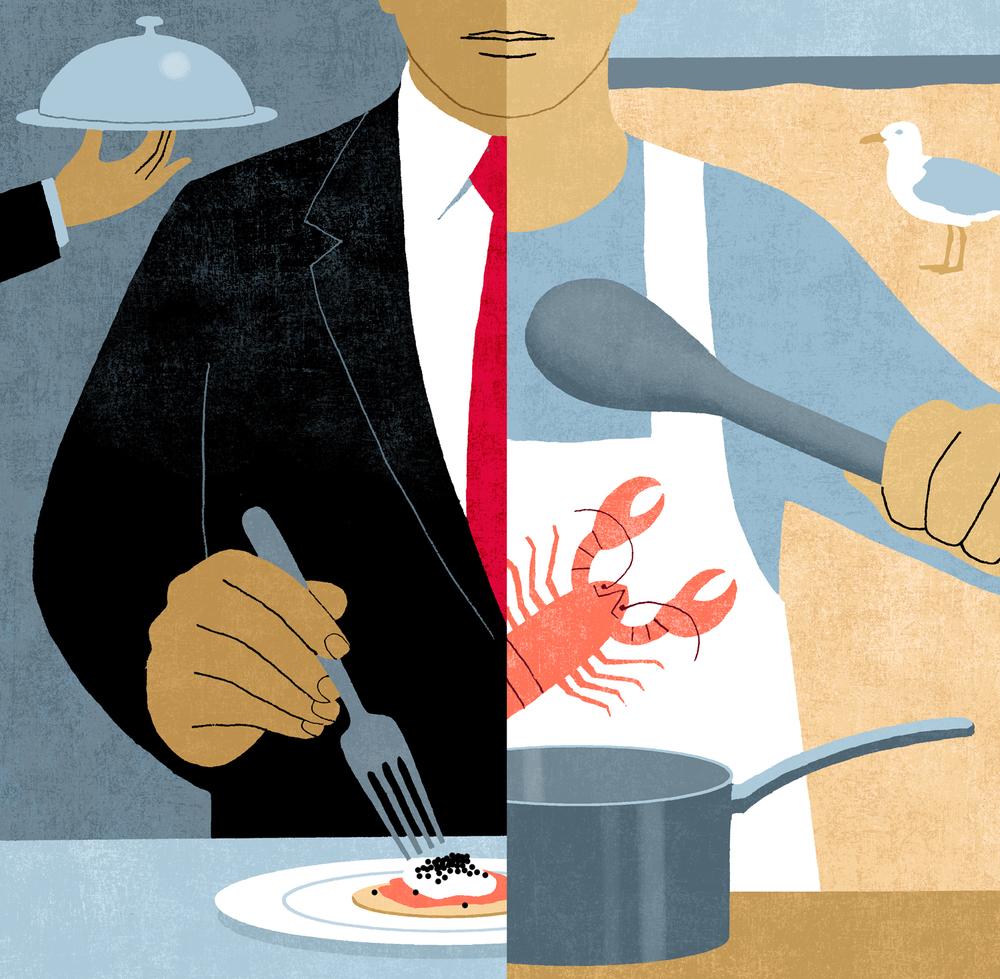 Restaurant Critic on Vacation