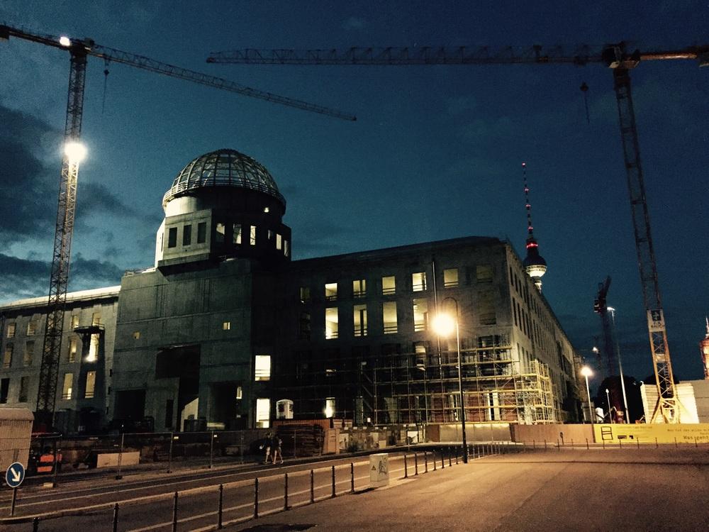 O tão criticado palácio de Berlim
