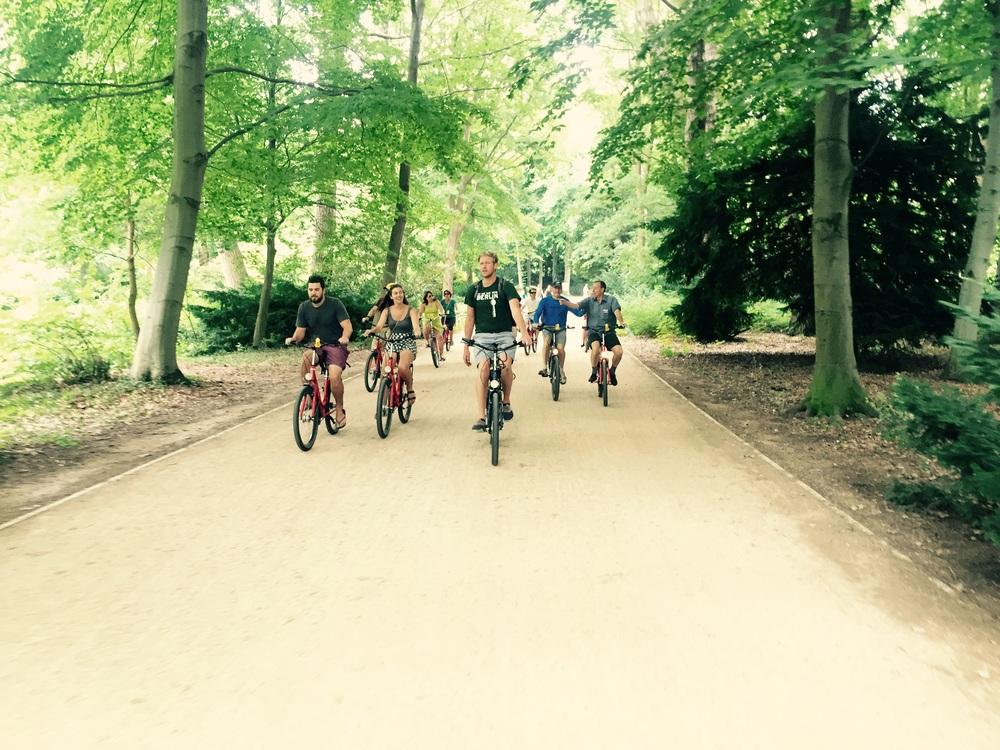 Fat Tire bikers!