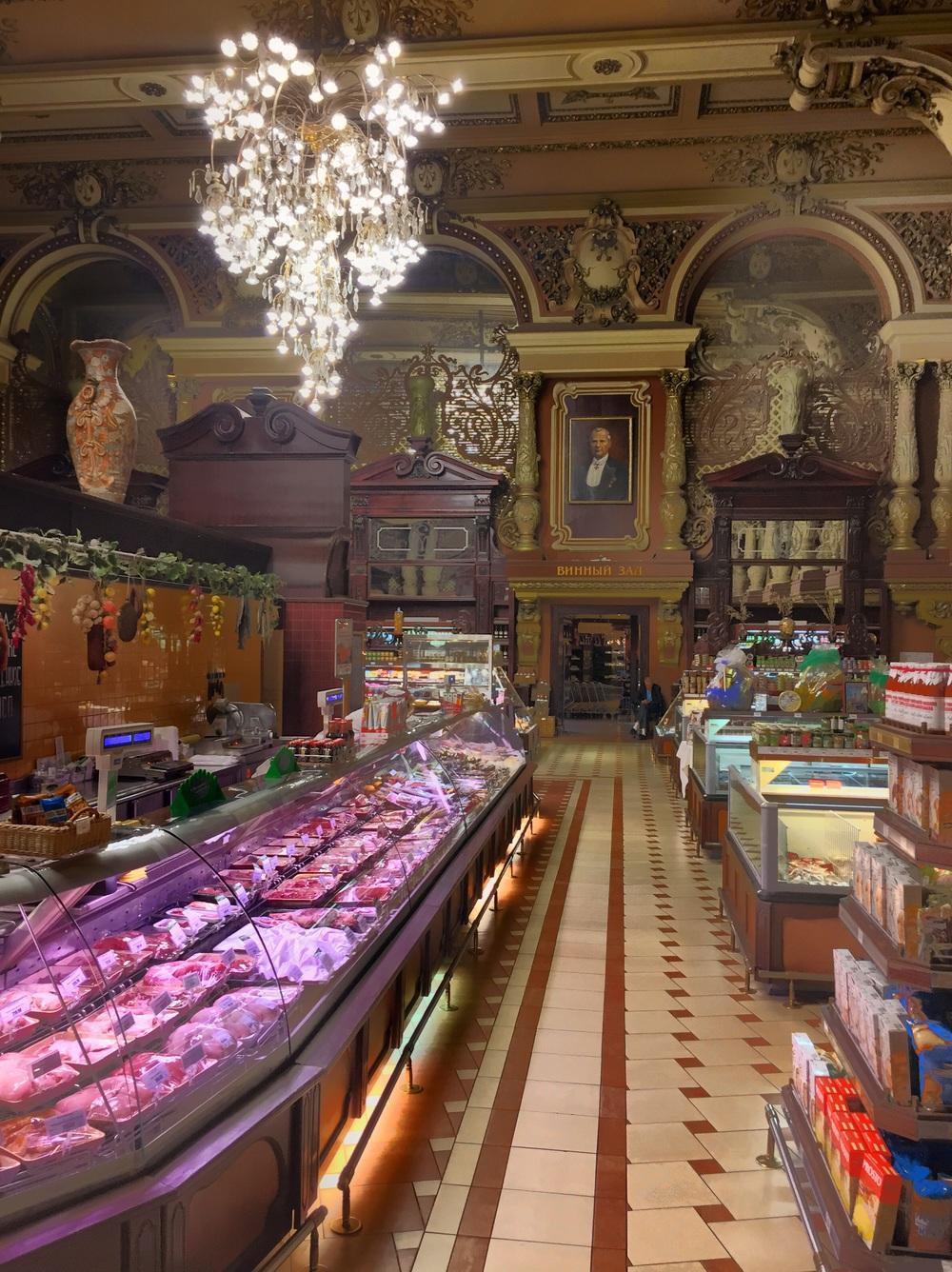 Mercado em Moscow