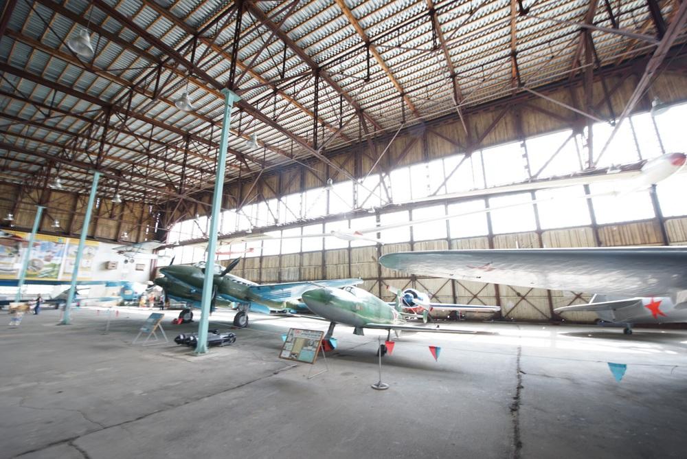 Aviões experimentais também fazem parte do museu!