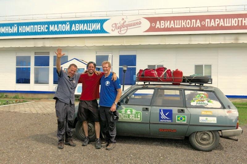 Partimos então em direção a Sibéria, Ishim.