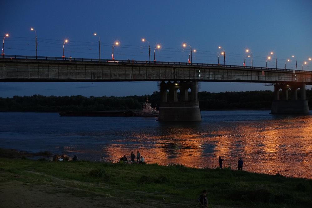 Ponte sobre o Rio Irtich