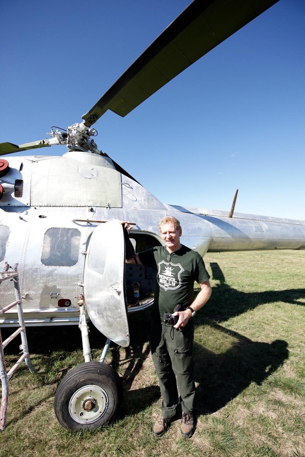 Gerard sonhando com um Mi-2