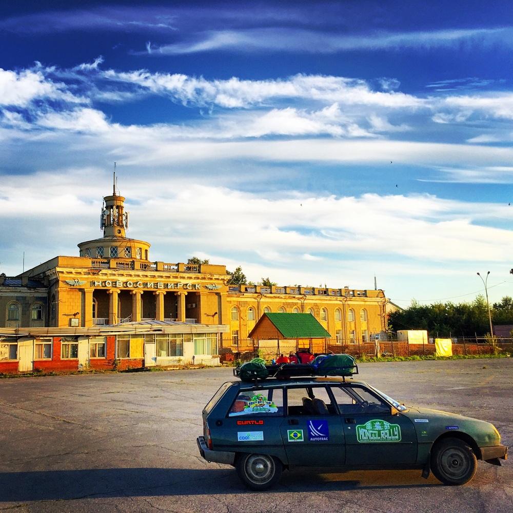 Aeroporto abandonado de Severnii em Novosibirsk