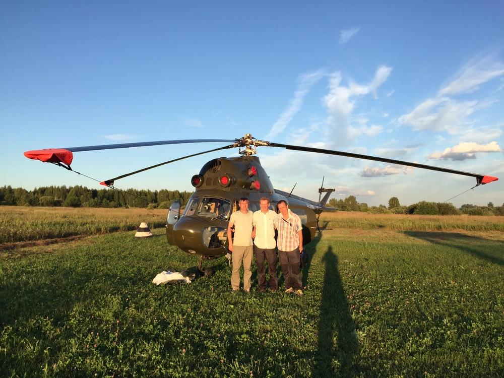 Quase que levamos este Mi-2 para casa!