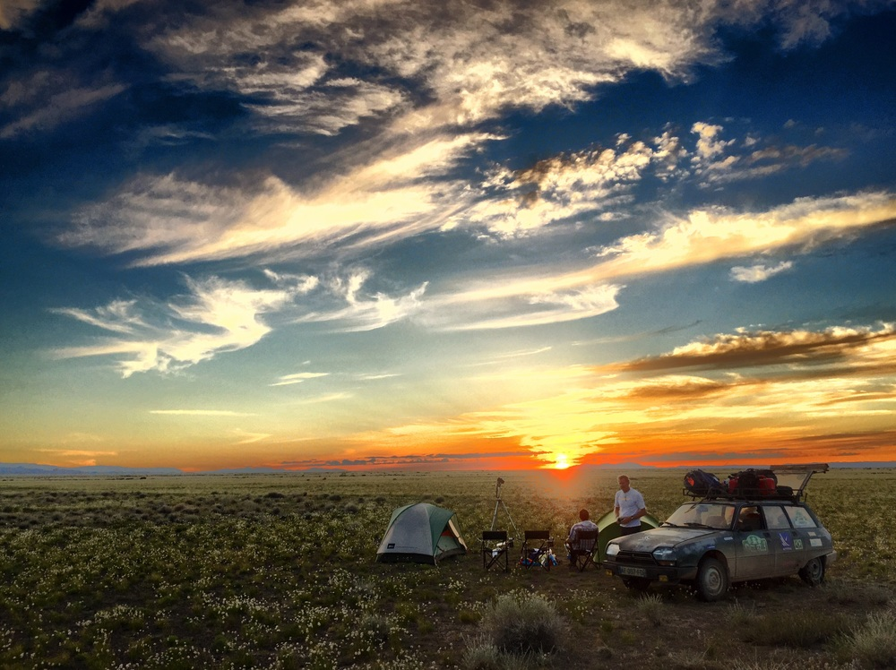 Camping no paraíso!