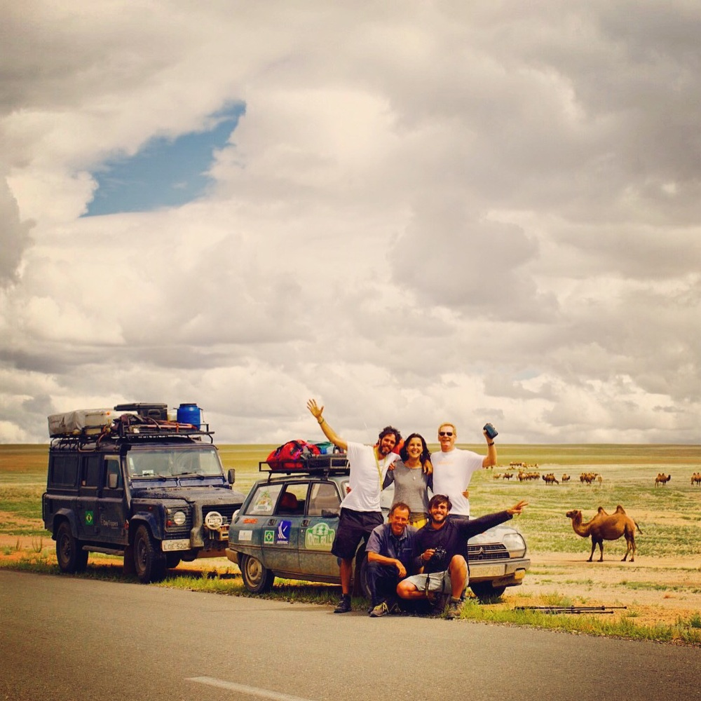 Isa, Rafa e os Nuts! Ah sim, tem o camelo, que resolvi chamar de Tanker!