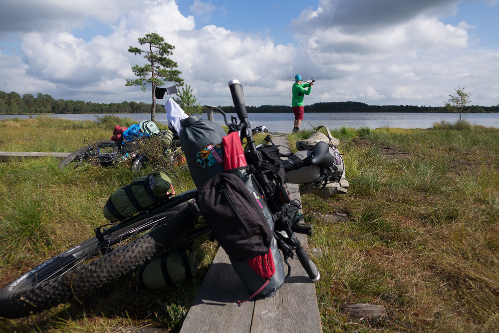 bikepacking fish