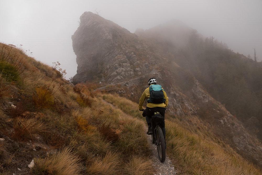 bikepacking liguria