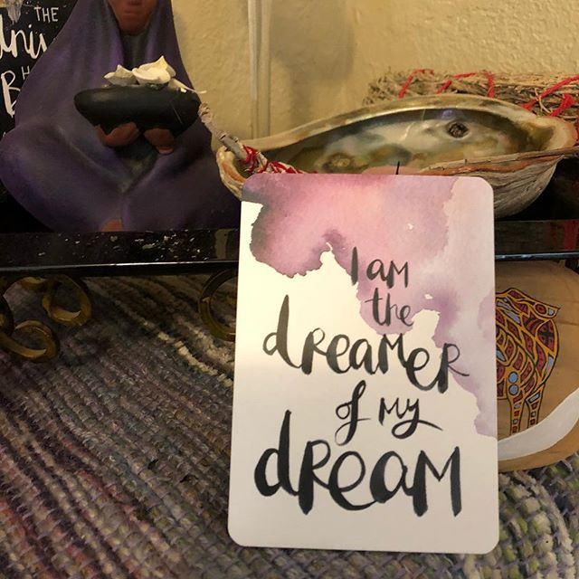 Such a great reminder for this morning!  No one can take my dream unless I allow them to - ain't happening to this girl!!! 💜💕💜