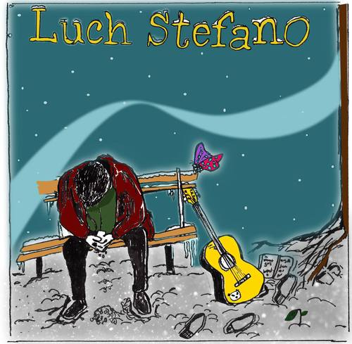 Luch Stefano  - 'Night Out was the first ever song we recorded together, Ed was enthusiastic to jump straight in and complete any task I set him to. It was actually after recording this track that we decided to do a whole album and no other studio was willing to record 17 whole tracks, but Ed made it look easy'