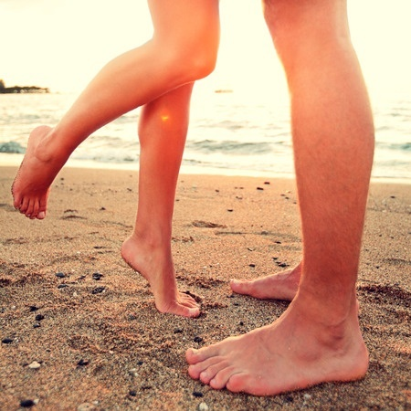 why men love feet