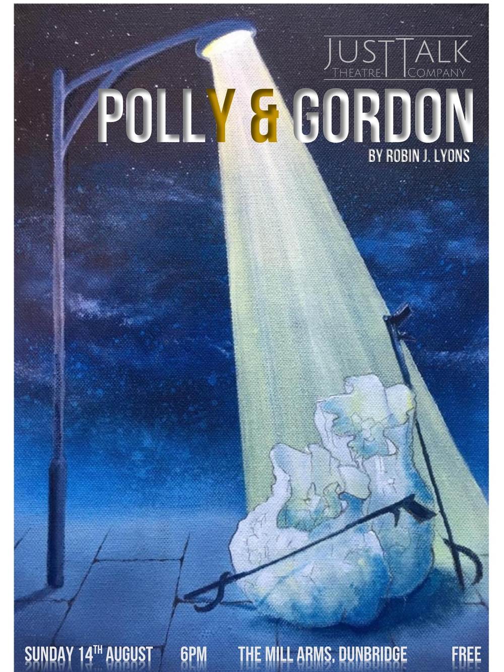 Polly & Gordon (Beautiful Desolation) Original Artwork by Joanna Claire Lyons