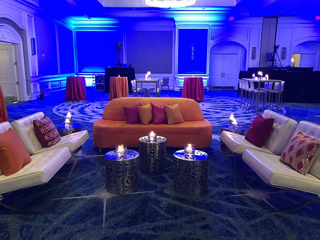 A peak at the After party setup from last night 😍 #MaryKenealyEvents #corporateevents #SarasotaEvents #SRQ @palaciosevents @afr_rentals
