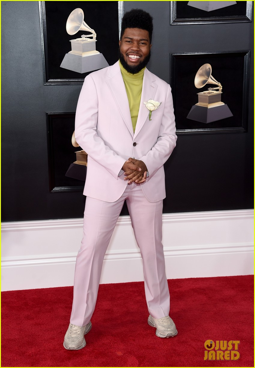 Khalid at the 2018 Grammys