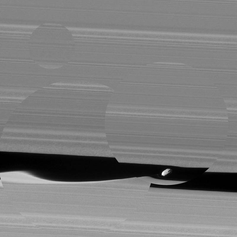 Saturn's Soundwaves