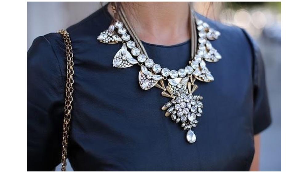 Ожерелье на шею фото