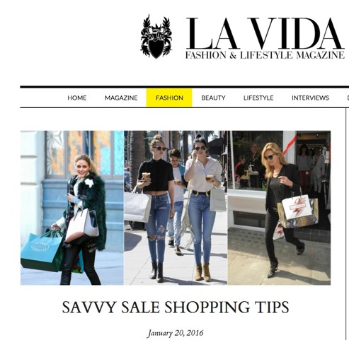http://www.itslavida.com/savvy-sale-shopping-tips/