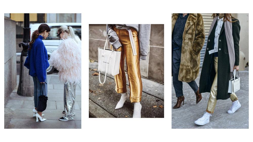 Metallic Trousers -