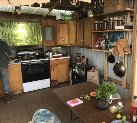 The crew kitchen: where the magic happen