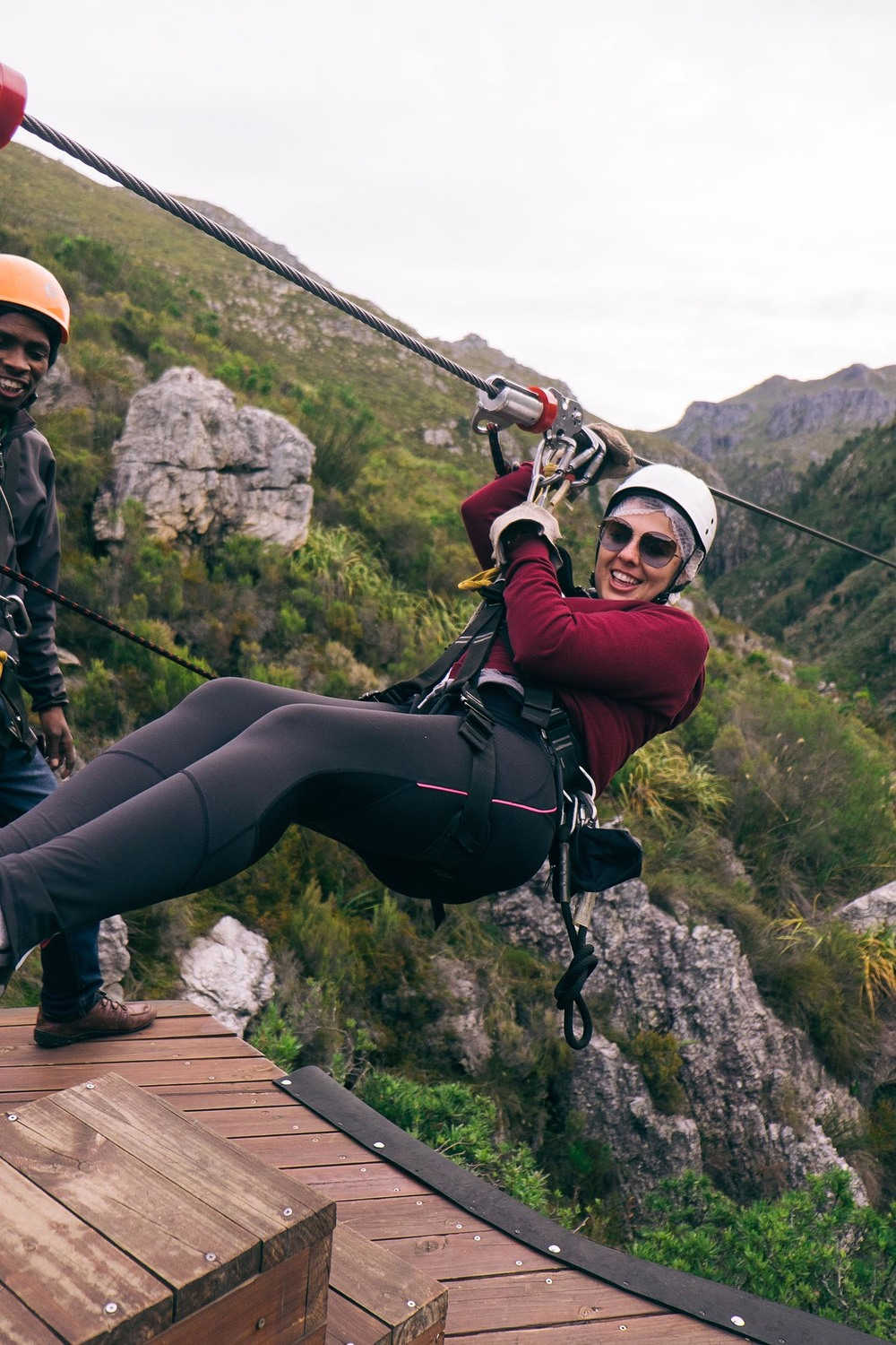 Cape Canopy Tours Elgin zip lining cape town