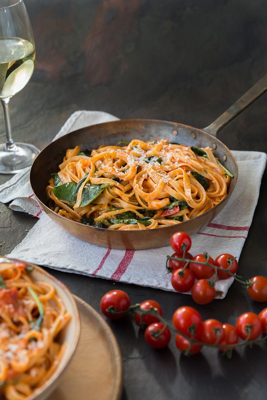 Prawn pasta to celebrate Sauvignon blanc
