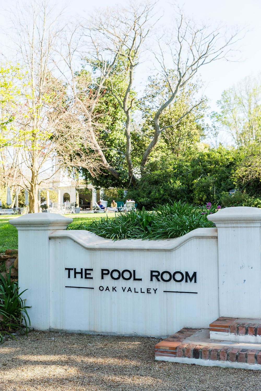 The Pool Room at Oak Valley
