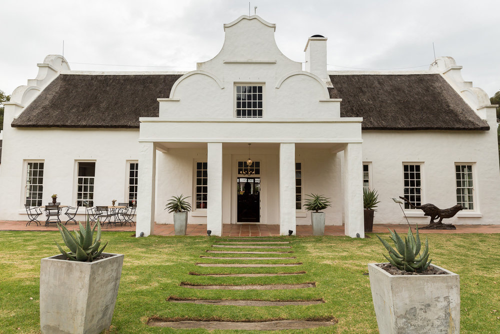 Staying at Holden Manz wine estate