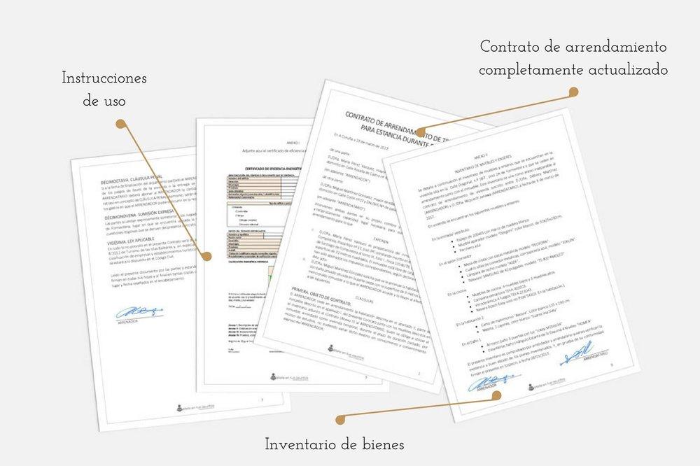 contrato de alquiler vacacional