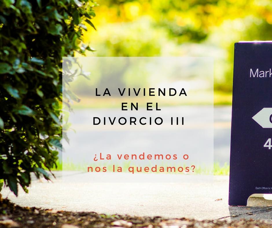 Vivienda divorcio III