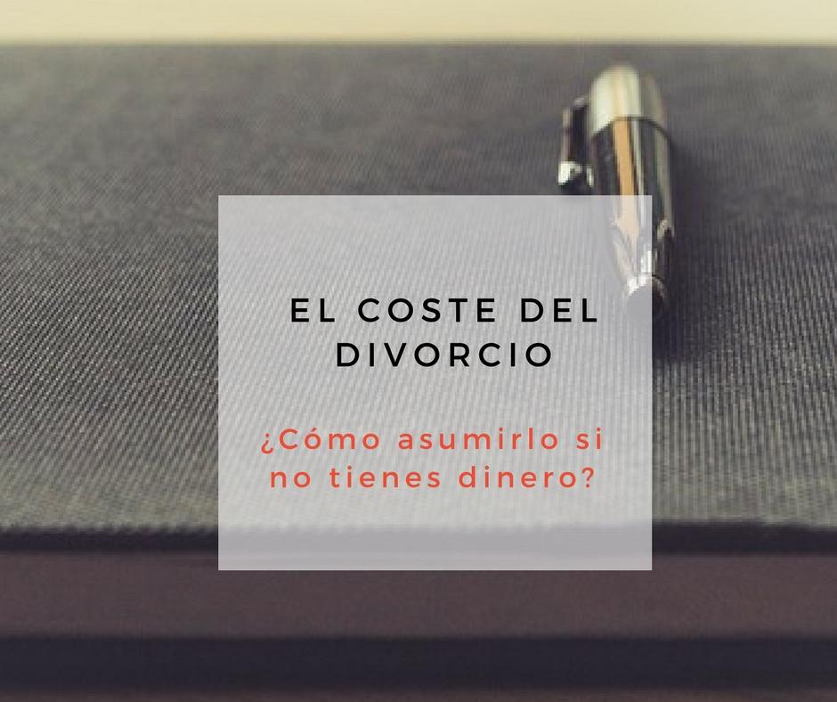 Coste divorcio