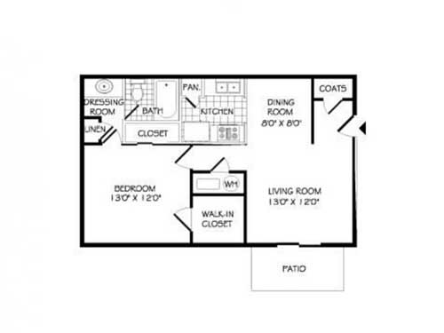 Floor Plans Arbor Walk Apartments