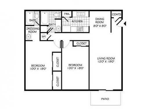 Closet floor plans roselawnlutheran for 100 sq ft living room