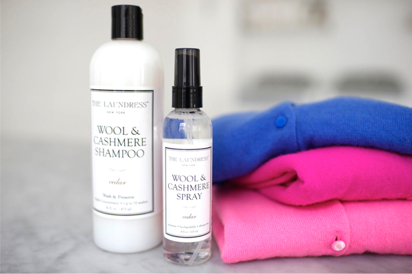 Photo credit: Cashmere and Wool Shampoo from The Laundress New York