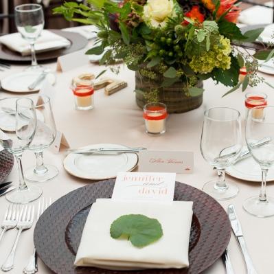 Biltmore Estate Wedding Menu