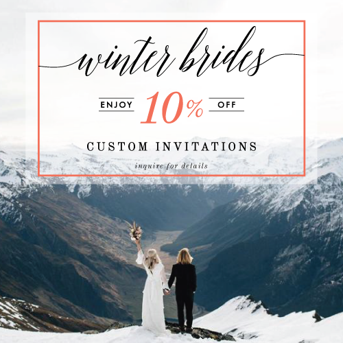 To qualify for the discount, your wedding date must take place between November 2016 and February 2017, with a signed contract and deposit submitted no later than midnight eastern on November 30, 2016. Max discount of $200. Cannot be combined with other offers.