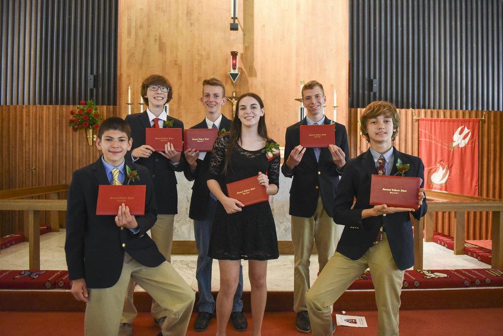 2017 ILS Graduation Vespers