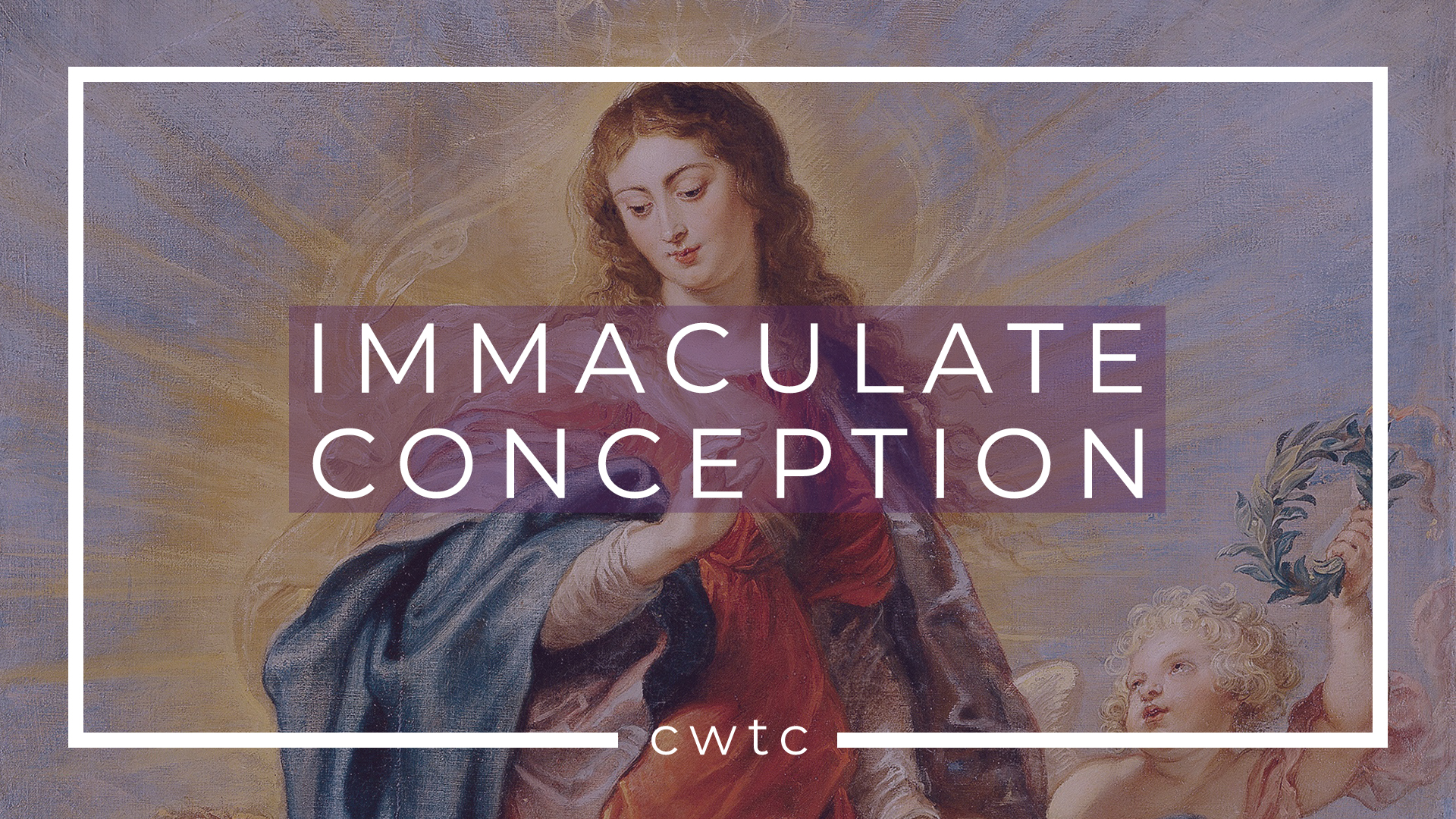 Immaculate Conception Of The Blessed Virgin Mary Stlouis King Of