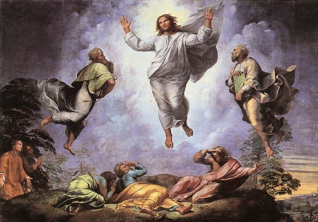 The Transfiguration , Raphael (1520)