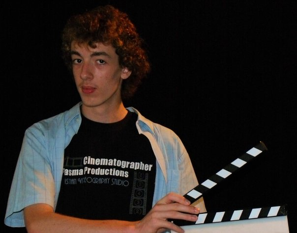 Director Blake Cortright at age 14.