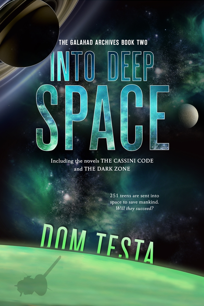 Book 2: Into Deep Space, available everywhere