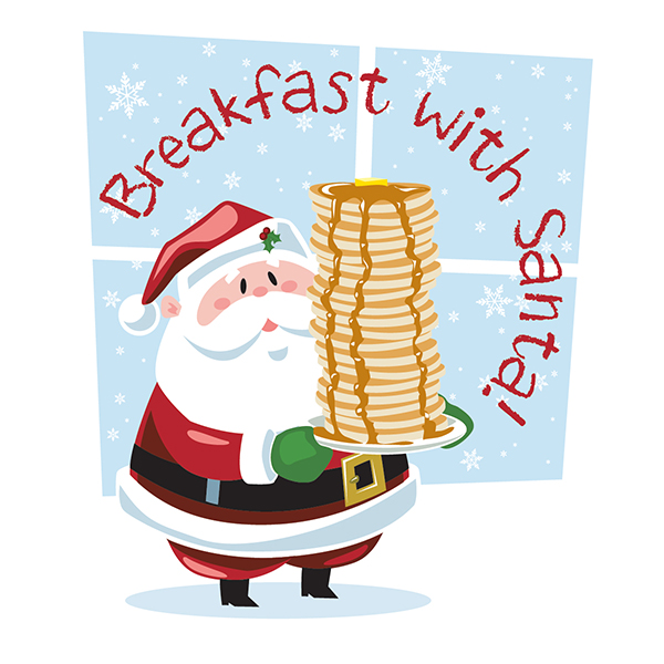 Image result for breakfast with Santa