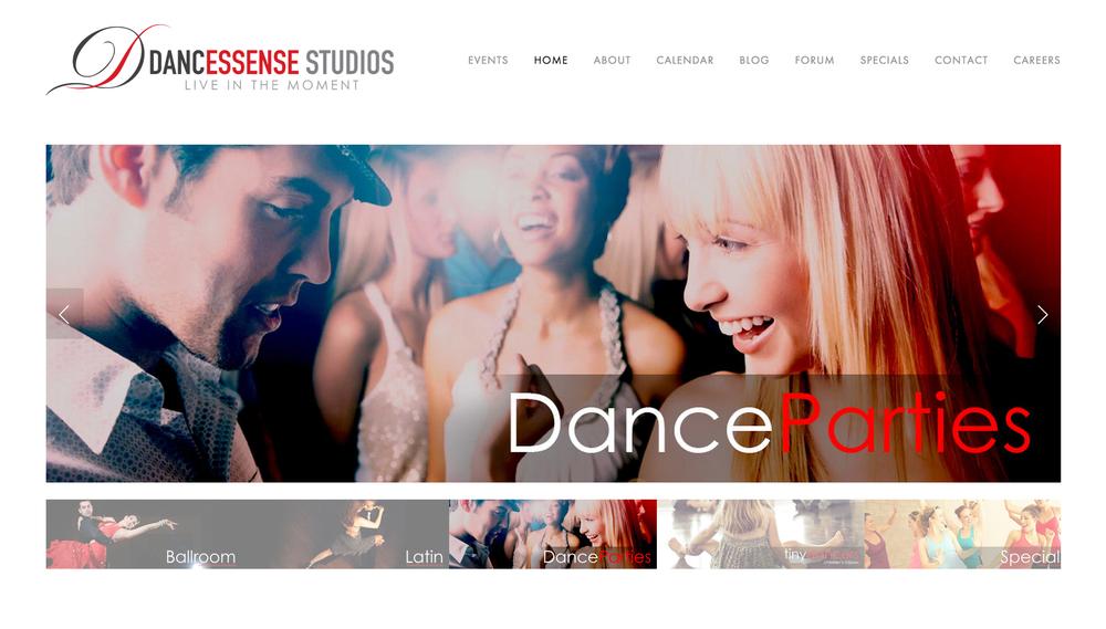 Dance Essense Studios Home Page - www.dancessense.com