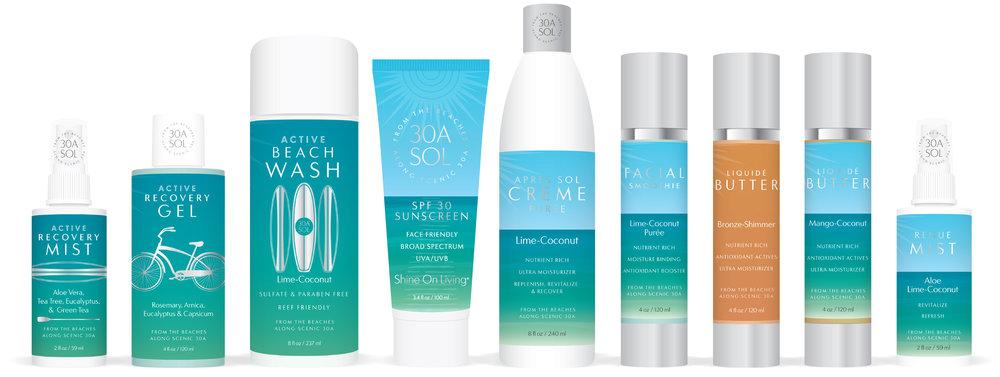 Shine On Living Product Lineup
