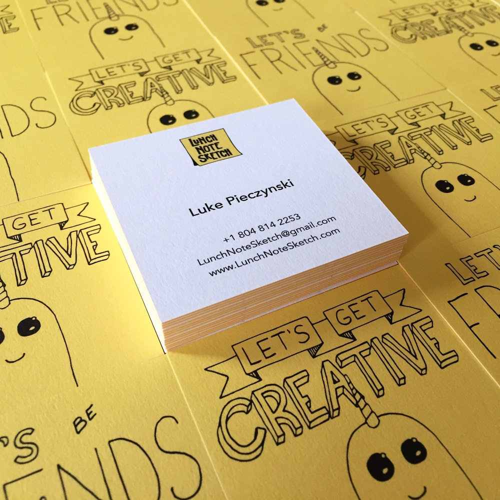 I am excited to hand out a lot of these business cards. I hope people like them as much as I do.
