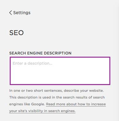 Leave your search engine description emply and give each page a unique meta description instead.