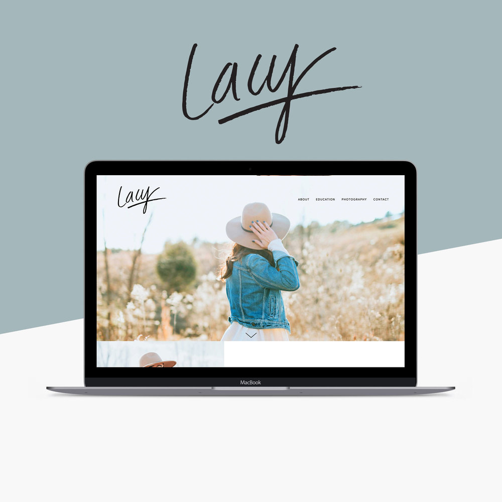 Lacy Squarespace Template