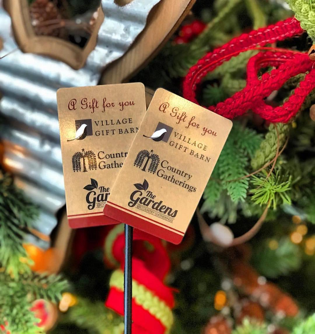 Gift Card Promotion Village Gift Barn