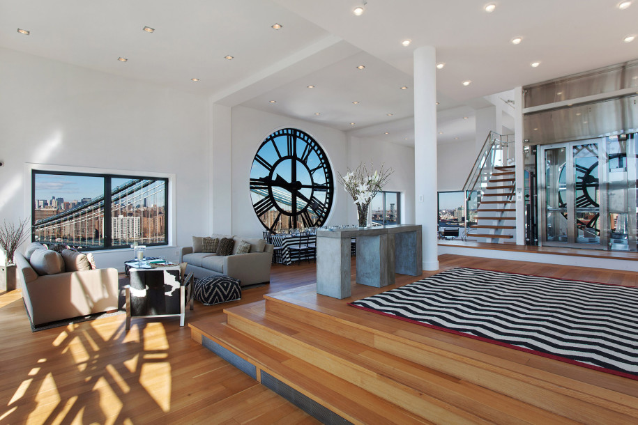 Clocktower Penthouse Residence, Dumbo-Brooklyn